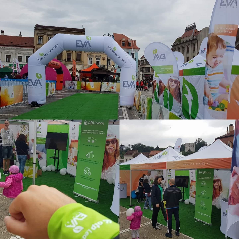 EVA Energy si OTP Leasing Romania la Maratonul International Brasov