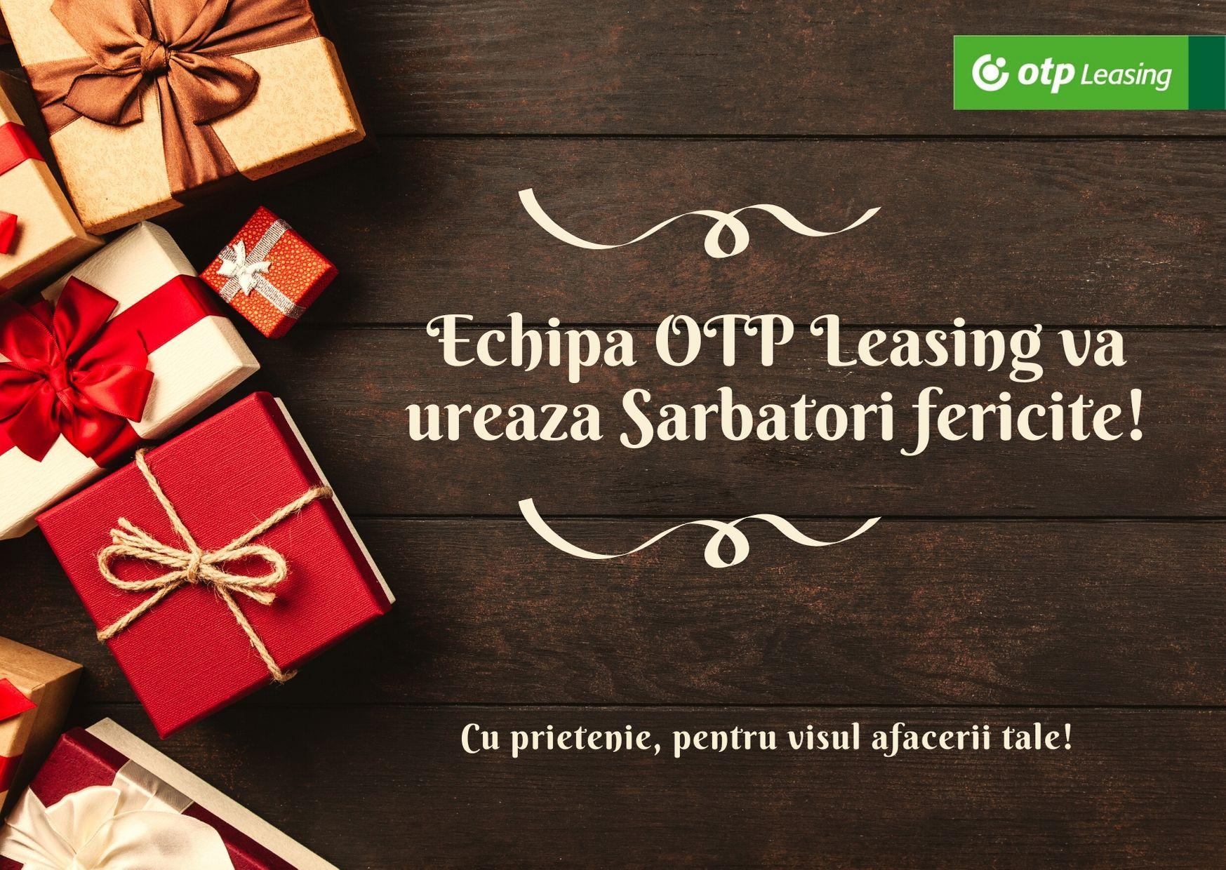 Sarbatori fericite din partea OTP Leasing Romania