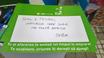 OTP Leasing Romania si Eva Energy la Marathonul International Brasov