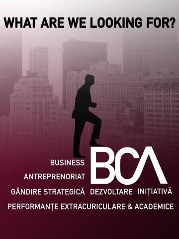 Au început înscrierile pentru Business Club Academy!