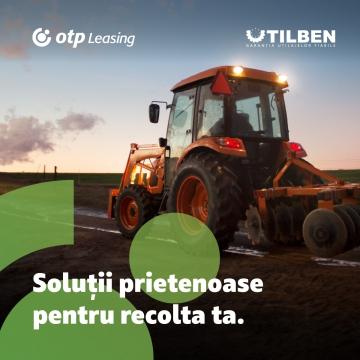 OTP Leasing și Utilben  - Soluții prietenoase pentru recolta ta