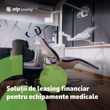 Avantajele leasingului financiar pentru echipamente medicale