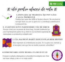 10 idei pentru afaceri de nota 10