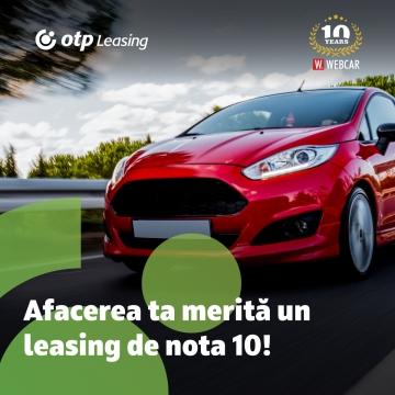 OTP Leasing și WEBCAR – Leasing de nota 10