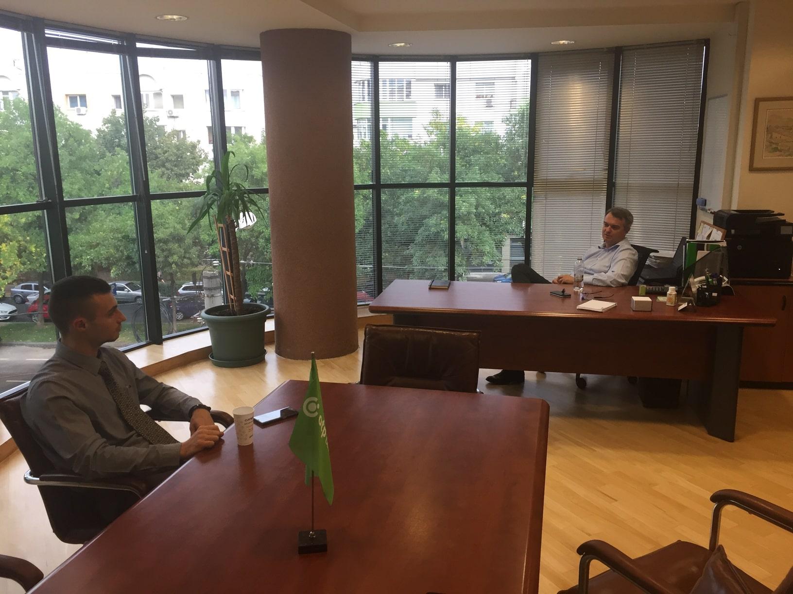 CEO pentru 1 zi - Gabriel Macri si Toni Tataru
